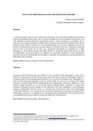 Intervenções significativas no ensino-aprendizagem da ... - dacex