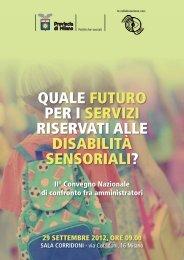 Gli atti del convegno (PDF 2,37 MB) - Provincia di Milano