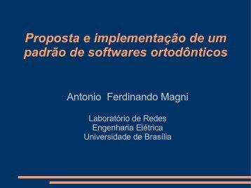 Proposta e implementação de um padrão de softwares ortodônticos