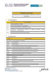 Fichas P1-P2 Cx oral maxilofacial - Sergas