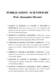 Pubblicazioni - Sapienza - Università di Roma