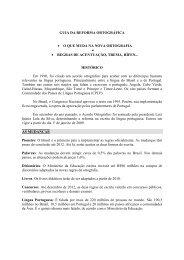 GUIA DA REFORMA ORTOGRÁFICA - UNIFEMM
