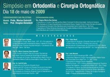 Simpósio em Ortodontiae Cirurgia Ortognática