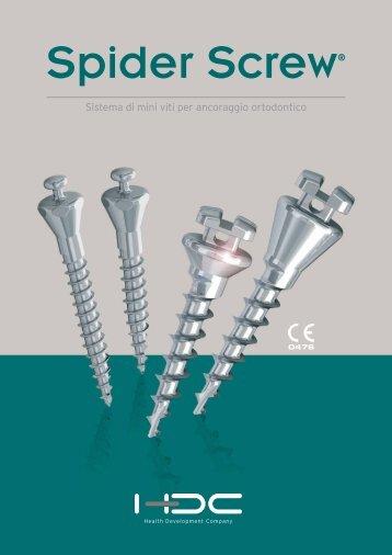 Sistema di mini viti per ancoraggio ortodontico - Orteam