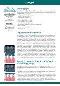 Sistema di mini viti per ancoraggio ortodontico - Orteam - Page 4