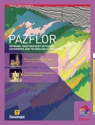 Pazflor, deep offshore experience and technological ... - Total.com