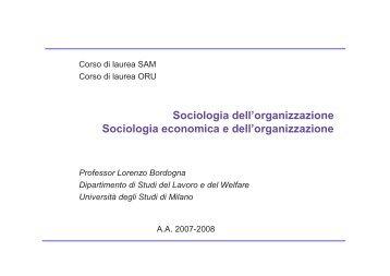 Incentivi selettivi - Scienze Politiche, Economiche e Sociali NUOVO ...