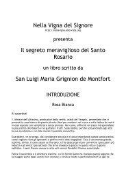 San Luigi Maria Grignion - Nella Vigna del Signore - Altervista