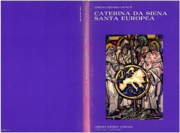 caterina da siena santa europea - Centro Internazionale di Studi ...