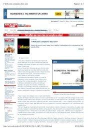 Pagina 1 di 2 I Wellcome compiono dieci anni 05/09/2006 http ...