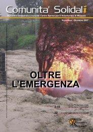 OLTRE L'EMERGENZA - CESV Messina