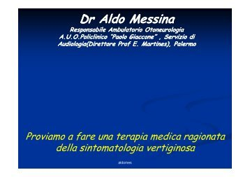Dr Aldo Messina - Altervista