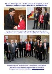 Bilder vom Festkommers am 4. März 2012 in der Südhanghalle ...