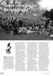 Tokio - ein kurzer Reisebericht - AIKIDO Quettingen