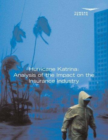 Hurricane Katrina: Analysis of the Impact on the ... - Towers Perrin