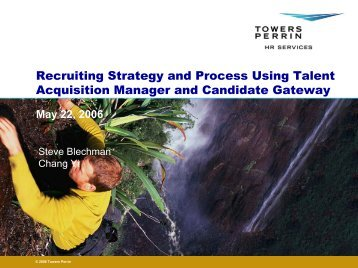 Recruiting Strategy and Process Using Talent Acquisition Manager ...