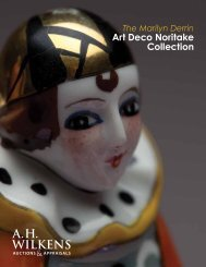 to download PDF version of the catalogue - A. H. Wilkens Auctions ...