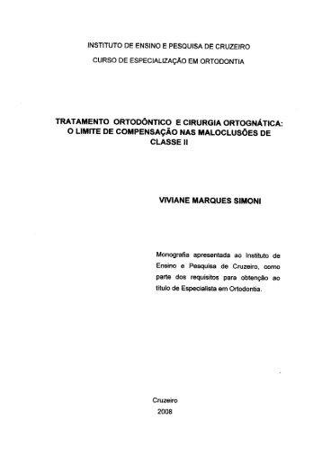 tratamento ortodôntico e cirurgia ortognática: o limite de ...