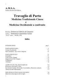 Travaglio di parto: medicina tradizionale cinese e ... - Agopuntura.org