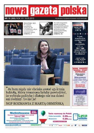 NR 10 (303) ROK XV 19.05.2013