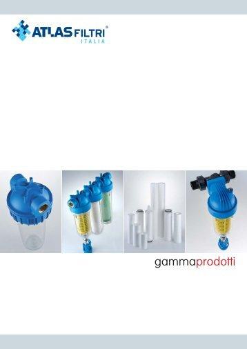 gamma prodotti - atlas filtri italia 2013