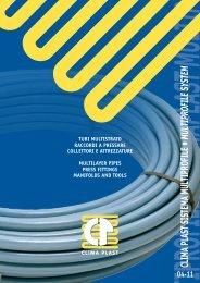 Catalistino serie multistrato Clima Plast Multiprofile - ClimaPlast S.r.l.