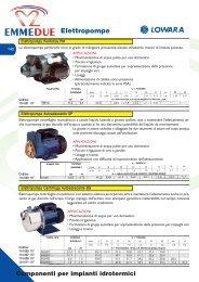 Elettropompe Lowara - Emmedueonline