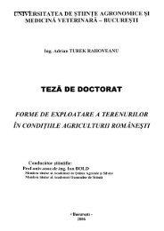 TEZĂ DE DOCTORAT - biblioteca-usamvb.ro