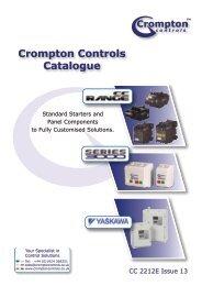 NEW 2013 Catalogue - Crompton Controls