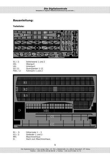 Bauanleitung: - Digitalzentrale