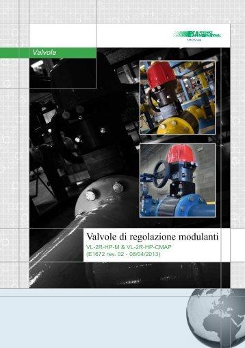 Valvole di regolazione modulanti - Esa