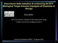 E.Bellan - Associazione Italiana di Fisica in Medicina