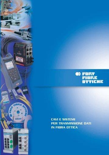 FORT TRITTICO 8^Ed. (03-09) - FORT FIBRE OTTICHE Srl