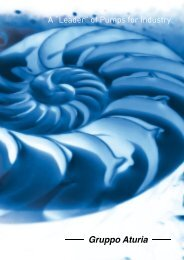 """A """"Leader"""" of Pumps for Industry - Gruppo Aturia – Italiano"""