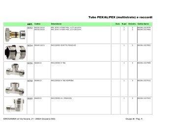 Tubo PEX/AL/PEX (multistrato) e raccordi - Idrogamma