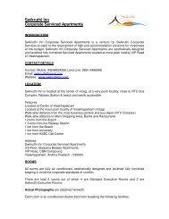 Swikruthi Inn Corporate Serviced Apartments