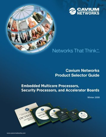 Winter 2008 - Cavium