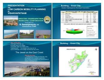 B. Ramanjaneyulu on transport in Vishakhapatnam - ITDP   Institute ...