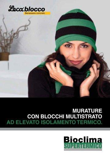MURATURE CON BLOCCHI MULTISTRATO AD ... - LecaSistemi
