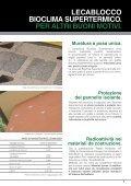MURATURE CON BLOCCHI MULTISTRATO AD ... - LecaSistemi - Page 7