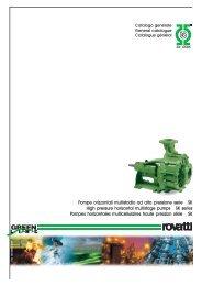 Pompe orizzontali multistadio ad alta pressione serie SK High ...
