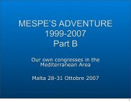 TO DOWNLOAD THE DOCUMENT (PDF - Part TWO of ... - Mespe.net