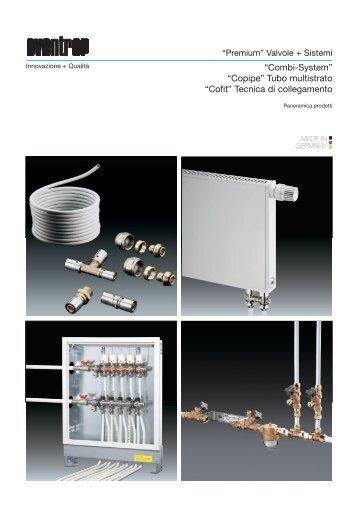 """""""Combi-System"""" """"Copipe"""" Tubo multistrato """"Cofit"""" Tecnica ... - Oventrop"""