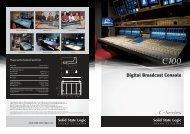 C100 Brochure - Duncan Pro Audio