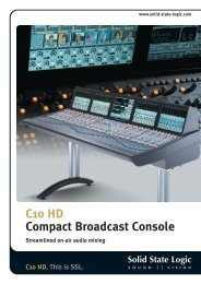 C10 HD. This is SSL. - Pro Audio Galicia