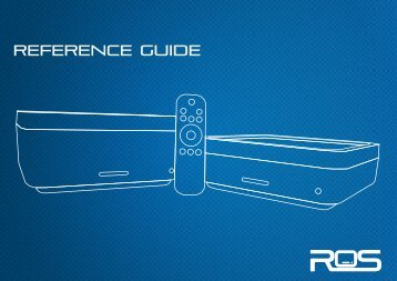 REFERENCE GUIDE - ROS