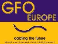 Fondamenti della fibra ottica. - Gfo Europe S.p.A.