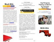 Mod-HSA - Maryland State Department of Education