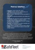 Brochure Webreporter - SafeFleet GPS | Gestione Flotte - Page 5