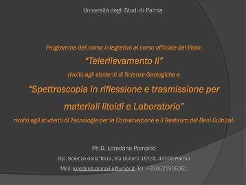 D - Laurea Magistrale in Scienze per la Conservazione e il Restauro ...